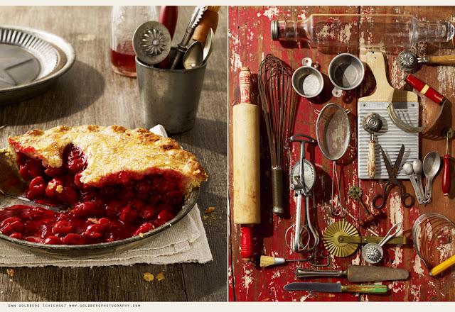 Pie + Cooking Utensils