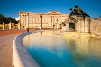 Buckingham Palace, London, England, RHD0048023