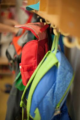Children's School Bags on Hooks RAD0068794