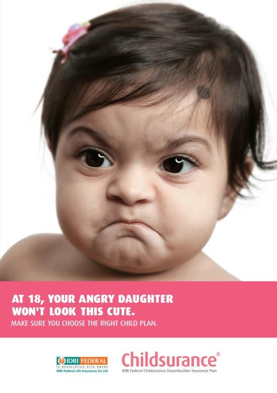 Childsurance - Angry Baby