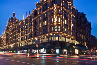 Harrods, Kensington, London, England RHD0051191