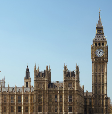 Houses of Parliament with Big Ben CUP0006275