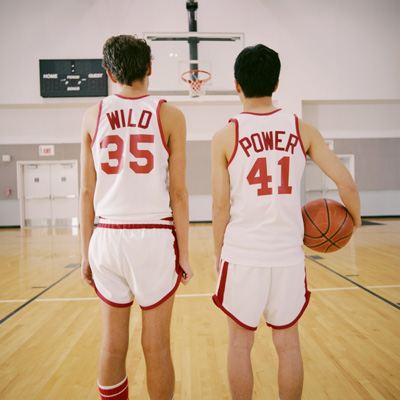 Intimidated Basketball Players FLT001312