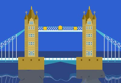 Illustration of Tower Bridge RHD0011328