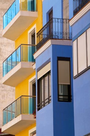 Media Bakery ID: RHD0073964 Apartments, Alicante, Valencia province, Spain, Europe