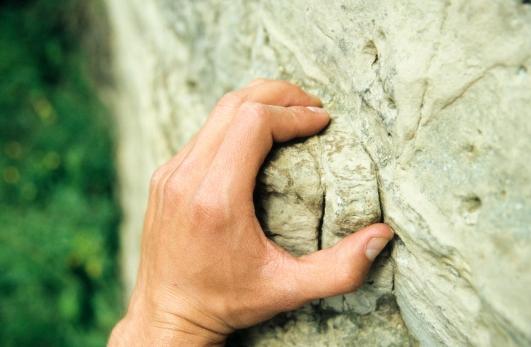 Media Bakery ID: NVC0000887 Detail exposure of a climber